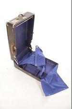 Bella vecchio Valigia armadio Casi corsa 50° Anni Culto Progettazione Vintage