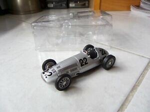 Mercedes W154 1938 Coche De Carrera #22 Altaya Ixo 1/43 F1
