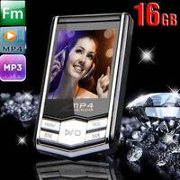 16GB 1.8'' LCD-Bildschirm schmal MP4 MP3 Musik Spieler FM Radio Video-Spiele &