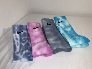 Nike Custom Tie Dye Socks - 4 Pack