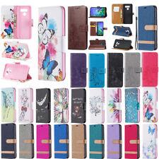 For LG K40 K50 Q60 Q61 K51 K61 PU Leather Magnetic Flip Wallet Card Case Cover