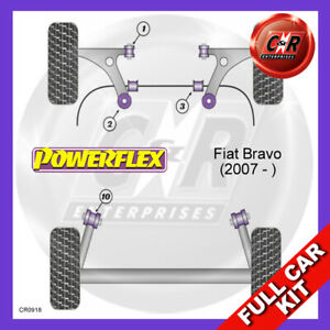 Fiat Bravo (2007 - )  Powerflex Complete Bush Kit