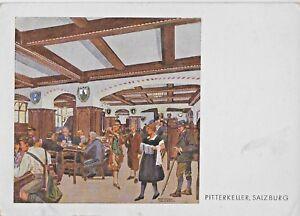 Ephemera Austria Salzburg PitterKeller Resurant Mug Moser Vintage