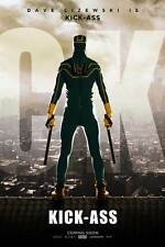 KICK-ASS Movie POSTER 27x40 C Nicolas Cage Aaron Johnson Chloe Moretz