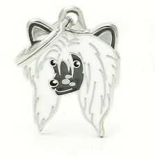 Chinese Crested Dog ID Tag (95) - Engraved FREE - Personalised - Identity- Charm