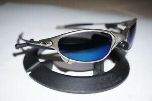 Oakley X-Metal Juliet Sunglasses Ice Iridium Plasma Frame 3rd Gen 04-114 S/N **B