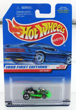 Hot Wheels 1998 First Editions Go Kart - MINT CAR FROM DEALERS CASE