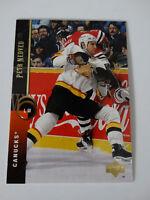 1994-95 Upper Deck #211 Greg Adams Canucks Hockey Error Wrong Name Card