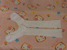 ^_^ Japanese School Girl High Socks 36cm. White. Size: 24-26cm. New !