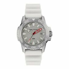 Nautica Herren Uhr Armbanduhr NAI12528G Silikon