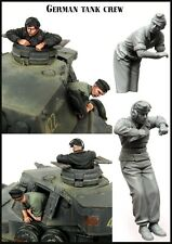 1:35 Resin Model Kit German Tank Crew For PANZER III WW2 (2 Figures, No Tank)
