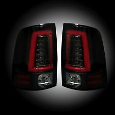 RECON 264336BK Dodge Ram 2013-2017 - Ram 2500/3500 2014-2016 Smoked Tail Lights