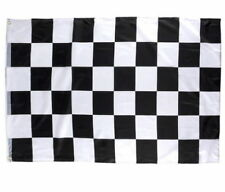 "CHECKERED FLAG 3 X 5 FEET 36"" X 60"" NASCAR RACING BLACK AND WHITE FREE SHIPPING"