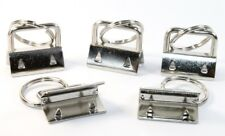 Schlüsselband Rohlinge 5 Stück 25mm Bügelklemmen