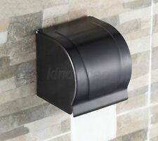 Bathroom Accessory Oil Rubbed Brass Toilet Paper Holder Roll Tissue Box Kba302