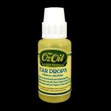 TEA TREE EAR DROPS CLEANER FOR DOGS 30ML WAX