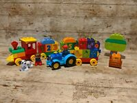 DUPLO MY FIRST NUMBER TRAIN 10558 AND MY FIRST TRACTOR 10615