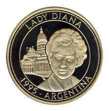 Lady DIANA - 1995 - ARGENTINIEN - QUEEN of HEARTS - TOLL - ANSEHEN (10409/410N)