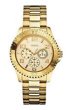 Guess Donna Orologio Watch Woman Uhr Multifunzione Oro W0231L2 GW Acciaio Gold