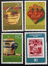 LIECHTENSTEIN - timbre/stamp Yvert et Tellier n°688 à 691 n**  (cyn5)