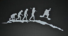 SANCTUARIES EDGE EVOLUTION LANDBOARD MOUNTAINBOARD KITESURFING STICKER DECAL