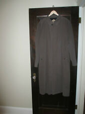 Men's BURBERRY LONDON  Kirk Trench Coat With Nova Check Lining Size 44R