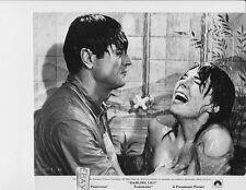 Rock Hudson Julie Andrews wet in shower VINTAGE Photo Darling Lili