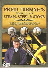 FRED DIBNAH'S WORLD OF STEAM, STEEL & STONE - 3 DVD BOX SET