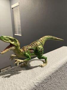 """Jurassic World Dino Hybrid- 9"""" Velociraptor Figure (2016, read desc.)"""