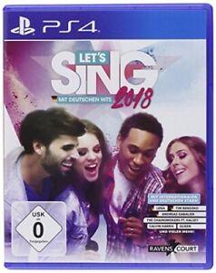 Let's Sing 2018 mit Deutschen Hits [PS4] - SEHR GUT