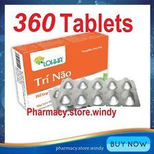 12 Boxes X 30 Tablets Lohha Tri Nao - 100% Herbal - Loss Memory Alzheimer