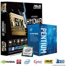 INTEL KABY LAKE G4560 CPU ASUS H110M-R GAMING MATX MOTHERBOARD UPGRADE BUNDLE