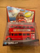 Disney Pixar Cars 2 Deluxe Double Decker Bus 1:55 Scale 2010
