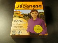 Instant Immersion Japanese Levels 1, 2, 3 Pc/Mac Dvdrom 3disc 2011 for Windows 7