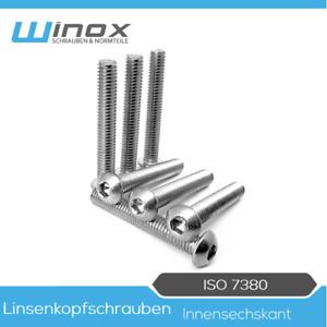 Zylinderkopfschrauben Edelstahl A2 V2A D2D VPE: 10 St/ück M4 x 6 DIN 912 Zylinderschrauben mit Innensechskant