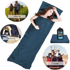 Schlafsäcke aus 100% Baumwolle Hüttenschlafsack Inlett Inlay Reise 210 CM Neu