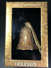 Vintage Cloissonne Faberge Gold Enameled 3.25� Bell No Barcode On Box w Orig Tag