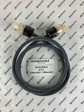 Kimber Kable PK14 Ascent Gold Power Cord 6'  (Retail $343)