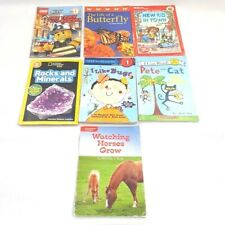 Lot of 7 Early Reader Step Into Reading Level 1 2 Beginning Reading Books