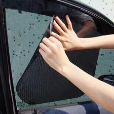 2Pcs Car Truck Window Side Sun Shade Cover Block Static Cling Visor ScreenBlack.