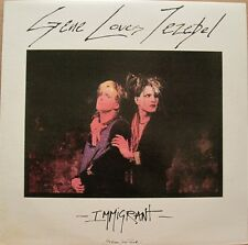 GENE LOVES JEZEBEL - IMMIGRANT - LP - CDN - 80s Alternative Rock oop rare L@@K