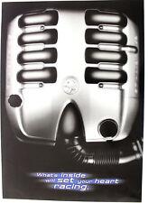 Holden V8 Gen III LS1 Engine Brochure & Poster VT Commodore Original Memorabilia