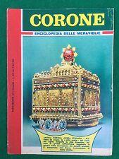 CORONE Enciclopedia delle meraviglie , Suppl. Intrepido n.23/1962