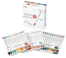 Zebra Clickart 36 color set from Japan F/S NEW