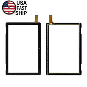 """Touch Screen Digitizer Glass For Onn 10.1"""" Tablet 2APUQW1027 Model 100011886"""