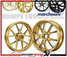 Wheels Marchesini Aluminum Forged Oro aluminum Wheels Ducati MTS 1200