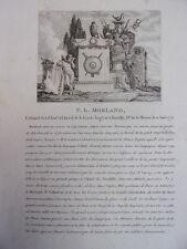F.L MORLAND Colonel des Chas. à cheval de la Garde Impériale né à Souilly 1771