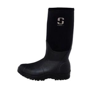 Striker ICE Rubber Ice Fishing Waterproof Ergonomic Boot SZ 12 Black 314507 NEW