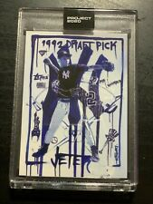 Topps Project 2020 #93 Derek Jeter by Gregory Siff 1993 RC New York Yankees