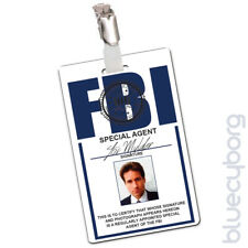FBI - Fox Mulder - Novelty ID Inspired By X-Files